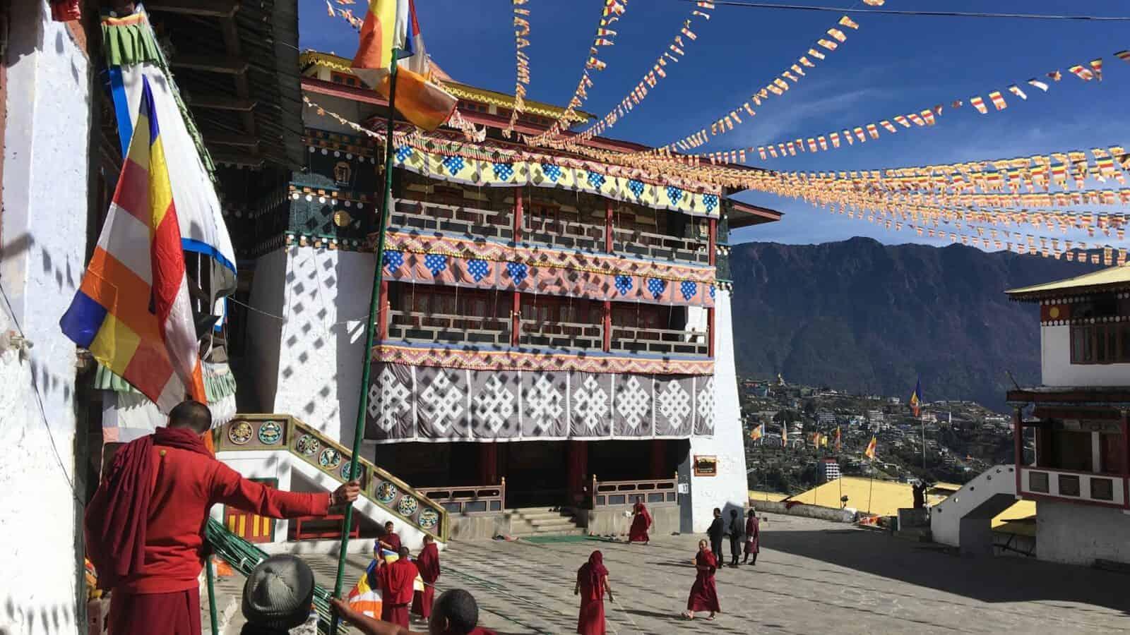 Monastery Tawang Arunachal Pradesh